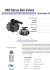 VKD Valves SUBMITTAL Data Sheet